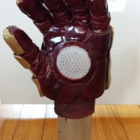 iron man cosplay glove, wonderflex, how to make