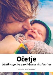 Naslovnica knjige Očetje: Kratke zgodbe o sodobnem starševstvu
