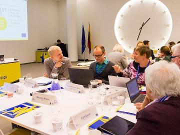 Sestanek strokovnega sveta Experts' Forum of the European Institute for Gender Equality (EIGE)