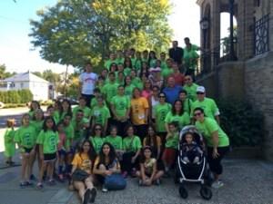 The St. James Armenian Church team last year