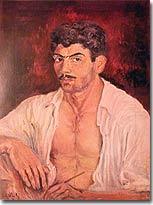 Self-Portrait by Paul Guiragossian