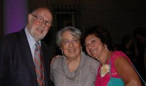 Donald Tellalian, Sophie Tolajian and Susan Deranian