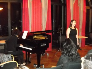 - Soprano Tigranuhi Howhannisyan performing with Diana Sahakyan