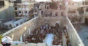 Armenian church in Homs