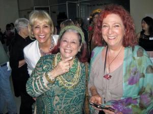 Opening at the Fresno Art Museum: Carole Boyajian Soldner, Joan Agajanian Quinn, artist Nancy Youdelman