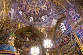 Holy Savior Cathedral in Isfahan