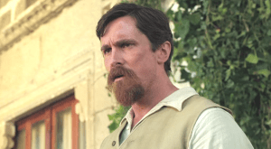 """Christian Bale in a scene from """"The Promise"""""""