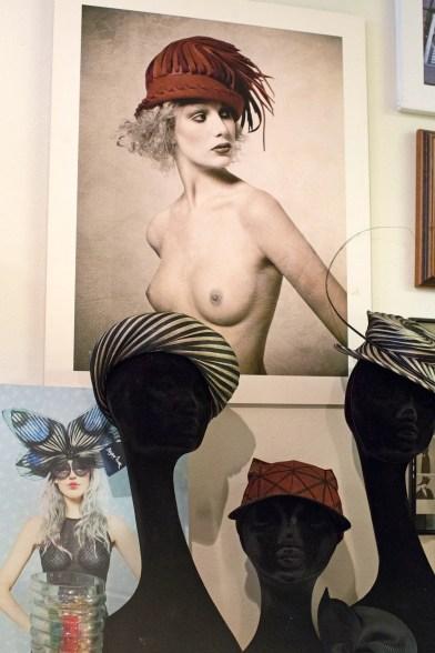 Ze is hoedenontwerpster én modiste: Mirjam Nuver
