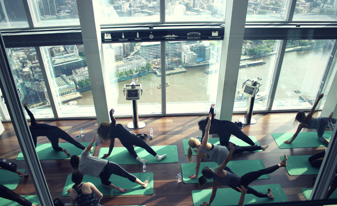 The Power of Core Workouts & Yoga at the Shard
