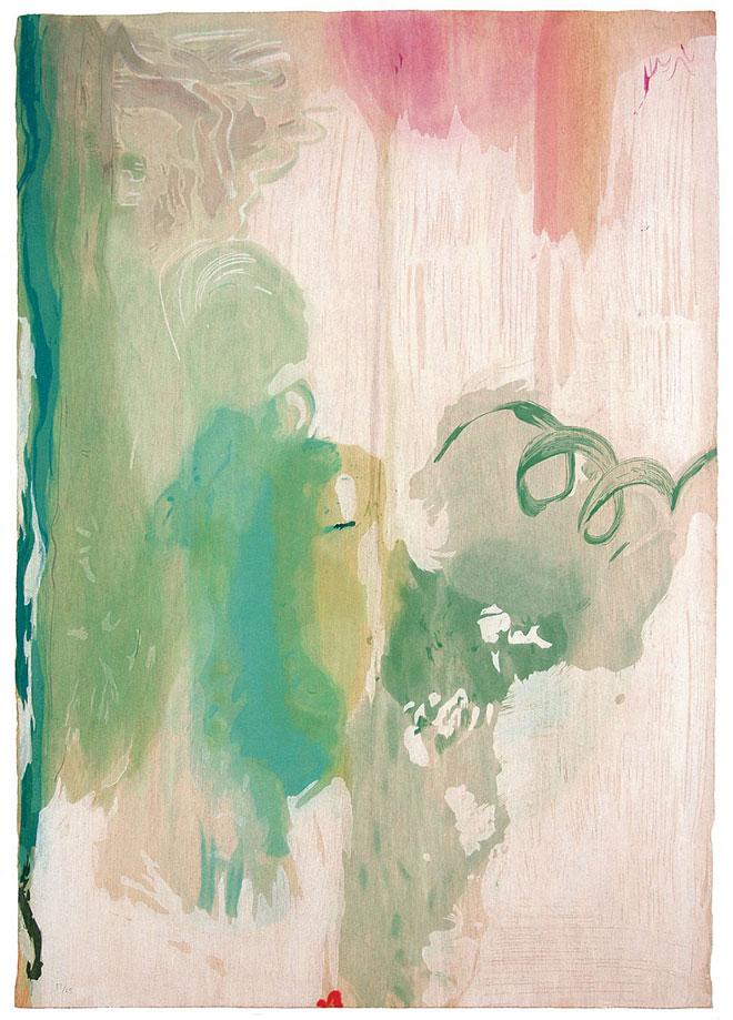 Snowpines, 2004 by Helen Frankenthaler