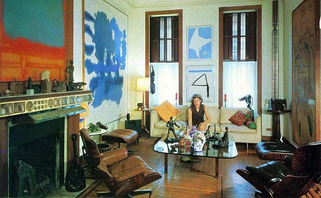 Helen Frankenthaler photographed by William Grigsby