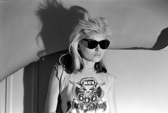 Debbie Harry. Photo by Christopher Makos