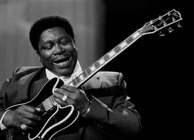 Photo: Andy Freeberg, BB King at Montreux, 1980