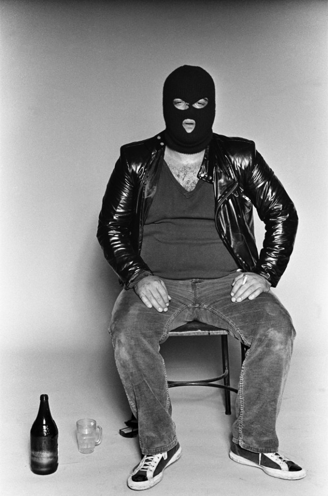 John Belushi, photo by Marcia Resnick