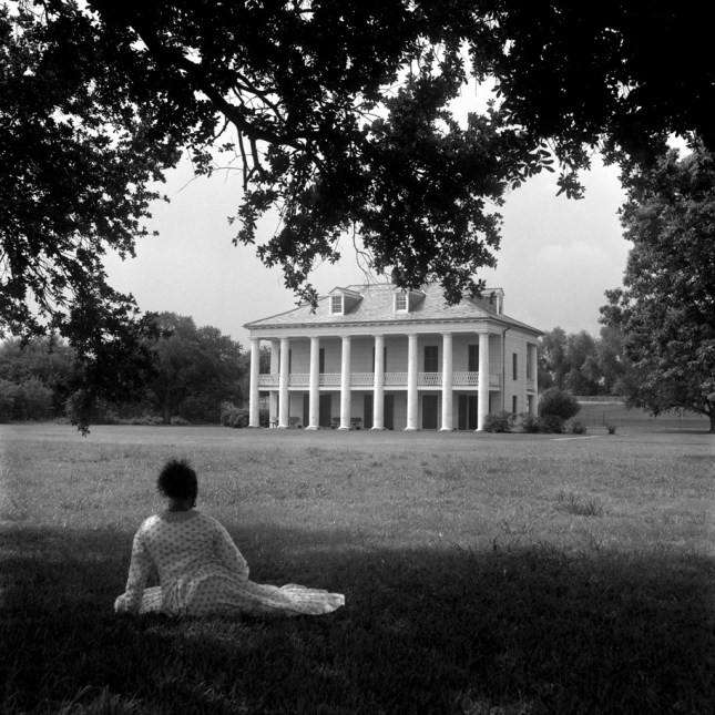 """A Distant View. Gelatin silver print . 20"""" x 20"""" © Carrie Mae Weems. Courtesy of the artist and Jack Shainman Gallery, New York"""