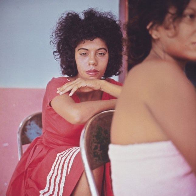 """Artwork: Danny Lyon, """"Tesca, Cartagena, Colombia,"""" 1966. Cibachrome, printed 2008. Image 25.7 × 25.7 cm (10 1/8 × 10 1/8 in.). Collection of the artist."""