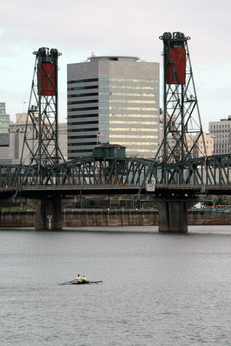 Sculling on the Willamette