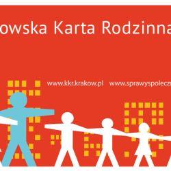 Informacja dla rodzin przedłużających Krakowską Kartę Rodzinną