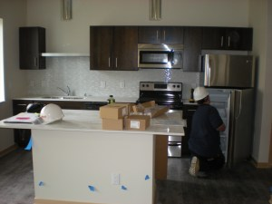 Kitchen of My New Home