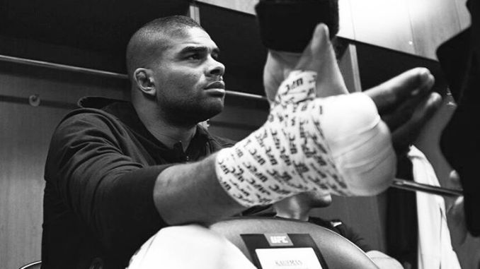 Overeem getting Ready