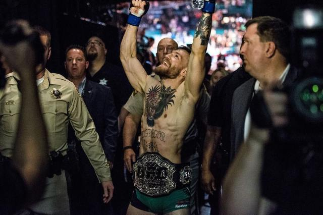 Conor McGregor Moneyweight champion after 202!