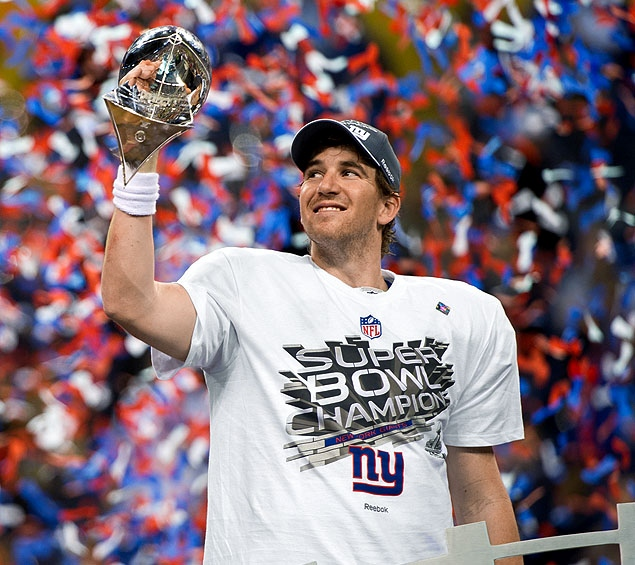 NY Giants campeones del Super Bowl XLVI