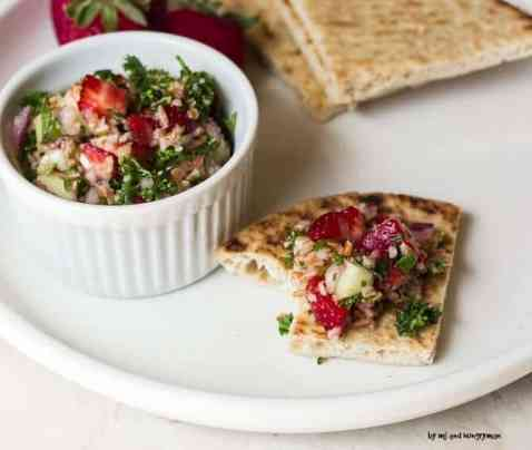 Strawberry Tabbouleh
