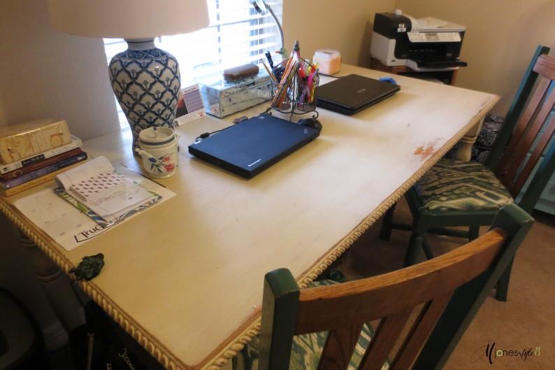 #vintage office desk