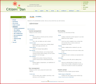 Citizen Dan Based on Drupal