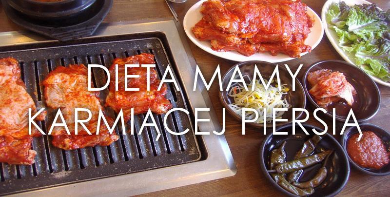 Dieta mamy karmiącej piersią