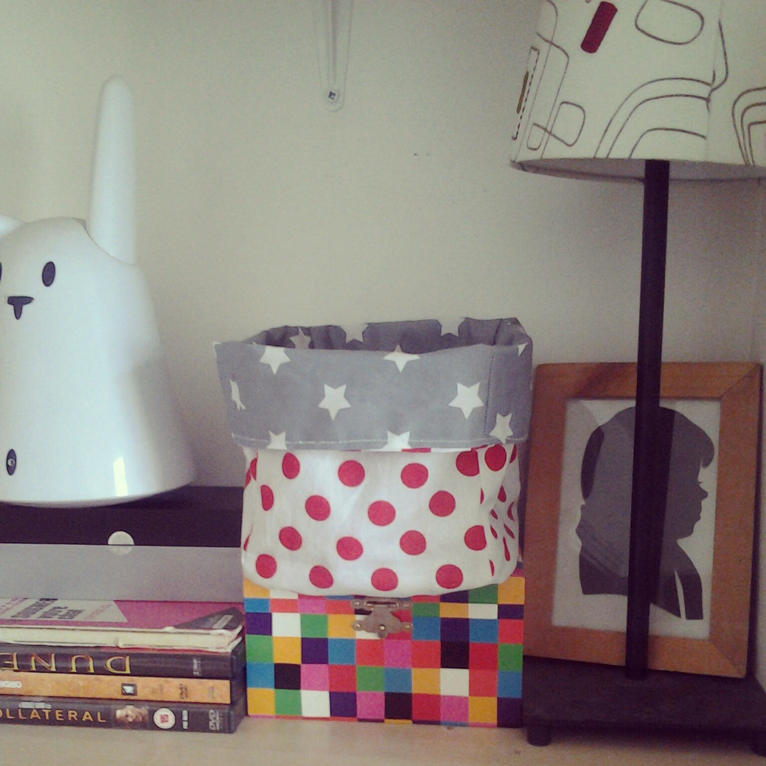tutoriel couture vide poche facile mlle pois. Black Bedroom Furniture Sets. Home Design Ideas