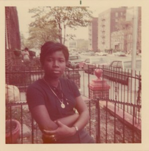 Wilda Smith, photographed in East Flatbush, 1971. Donated by Farrah Lafontant.