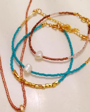 In LOVE with my new #collection #summer2016 #Miyuki #Beach #bracelets #anklets Buy in my shop: www.ibizawear.nl ( also wholesale)