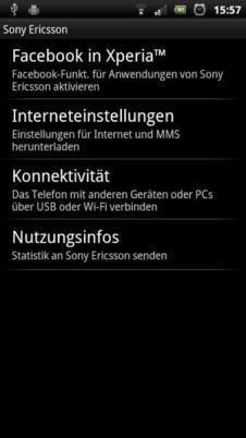 SE Xperia Arc S Screens (13)
