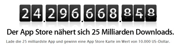 apple app store 25 mrd