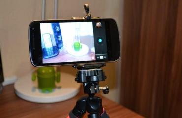 Smartphone Stativ Fotografie Top