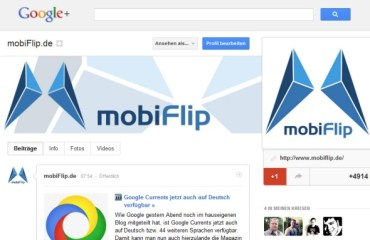 mobiflip google plus header