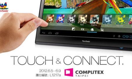 ViewSonic stellt 22'' Tablet am fünften Juni vor