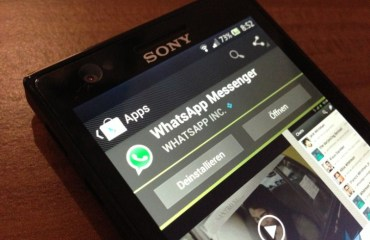 whatsapp sony header