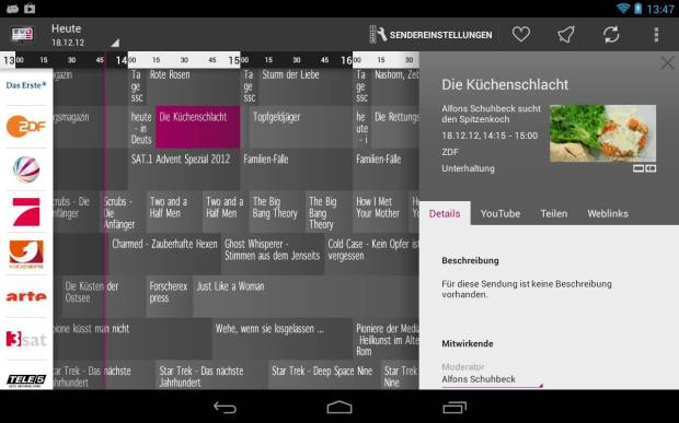 Prime Guide TV Zeitung Android