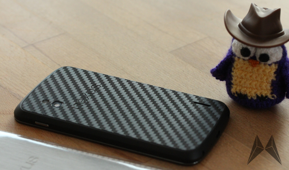 Dbrand Nexus4 Schutz Folie Header