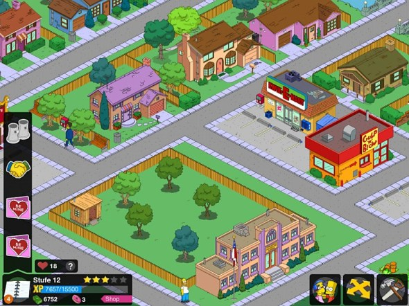 simpsons springfield