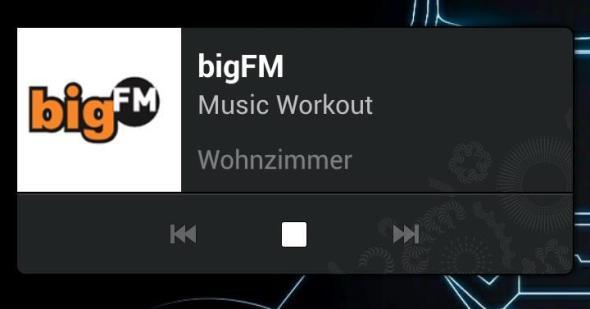 Sonos Widget