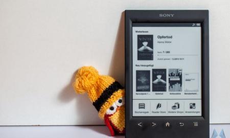Sony eReader PRS-T2 header