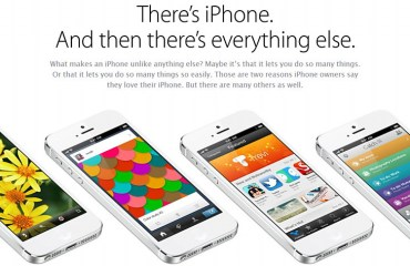 iphone promotion webseite