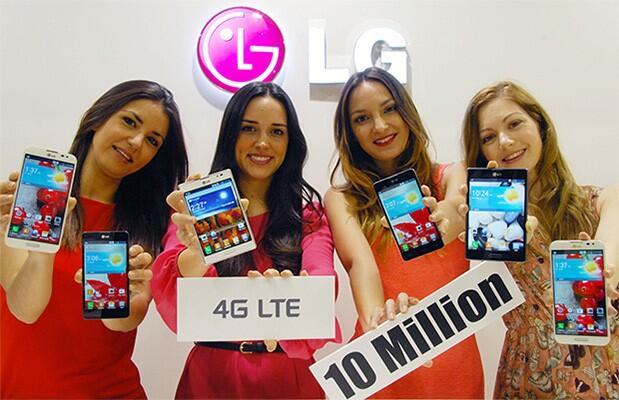 lg 10 millionen lte phones