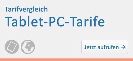 Tarifvergleich – Tablet-PC-Tarife