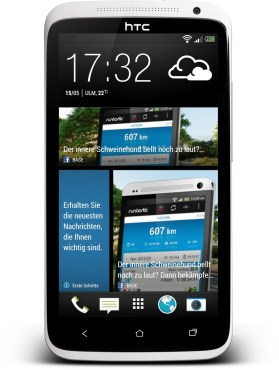 HTC One X Blinkfeed