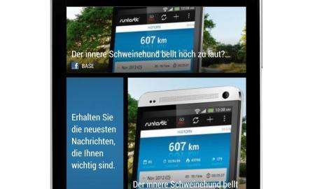 HTC One X Blinkfeed
