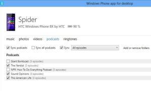 wp windows app